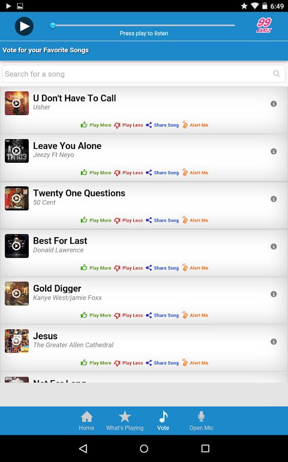 99 Jamz - screenshot