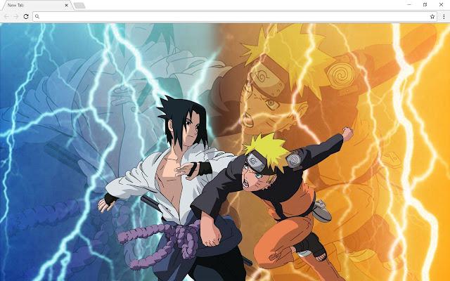Naruto Anime Themes & New Tab