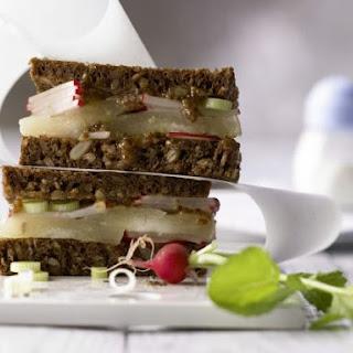 Limburger Rye Bread Sandwich