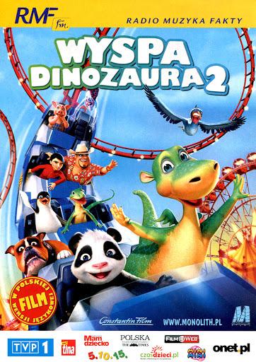 Przód ulotki filmu 'Wyspa Dinozaura 2'