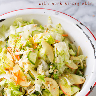 Apple Chopped Salad with Herb Vinaigrette