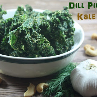 Dill Pickle Kale Chips (Raw, Vegan)