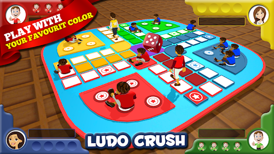 Real Ludo Crush 3D