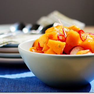 Melon and Chile Salad.