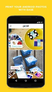 CHEERZ: Mobile Photo Printing screenshot 0
