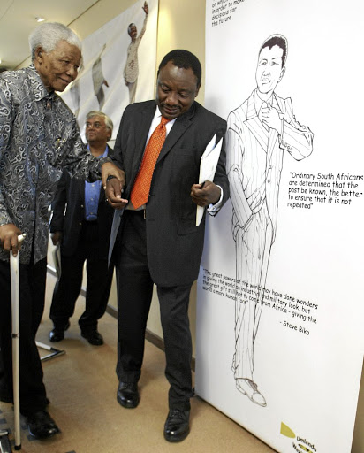 Cyril Ramaphosa models his leadership style on that of Nelson Mandela, but needs Madiba's grit too, the writer says.