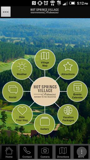 Hot Springs Village VisitorApp