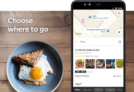 App Yandex.Maps and Transport APK for Windows Phone