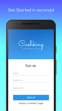 Cashking Earn Free Paytm Cash APK Latest Version Download - Free