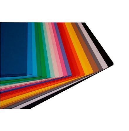DekorationskartongA4 10x20färg