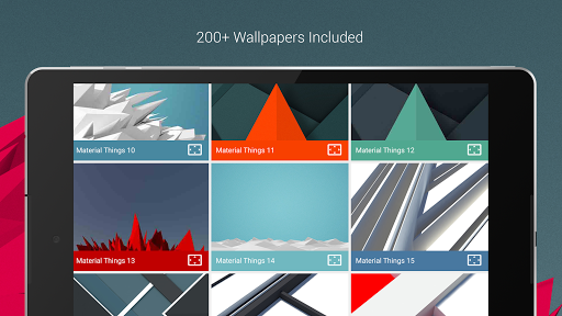 Material Things - Colorful Icon Pack (Pro Version)  screenshots 20