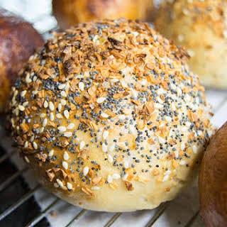 Cream Cheese Stuffed Bagels.