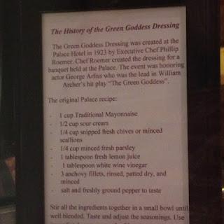 Green Goddess Dressing.