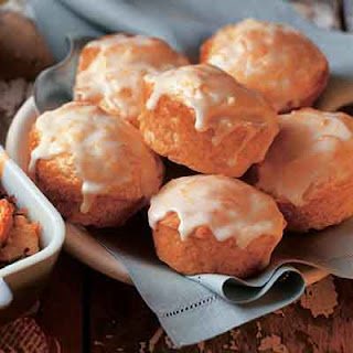 Peach Yogurt Muffins