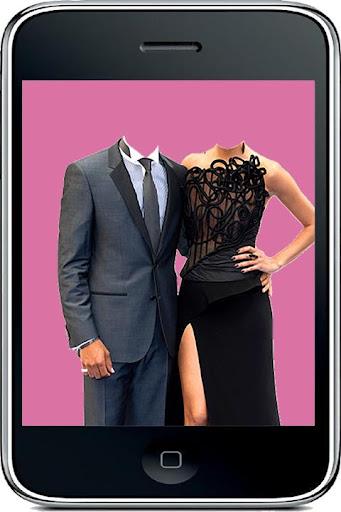 Couple Photo Suit Camera