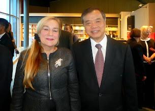 Photo: Z Jego EkscelencjąMakoto Yamanaka, Ambasadorem Japonii w Polsce