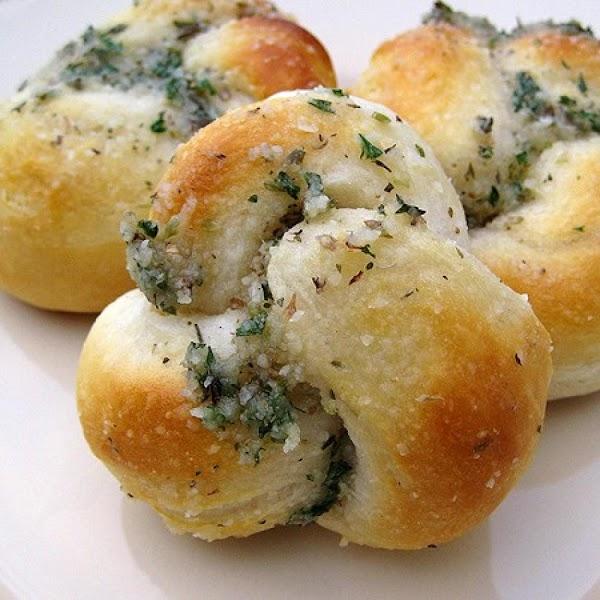 Easy Parmesan Knot Recipe