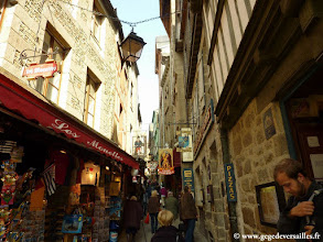 Photo: #008-Les commerces du Mont Saint-Michel