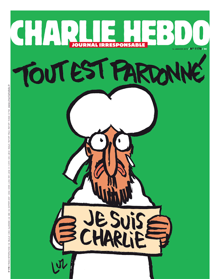 Charlie Hebdo- screenshot