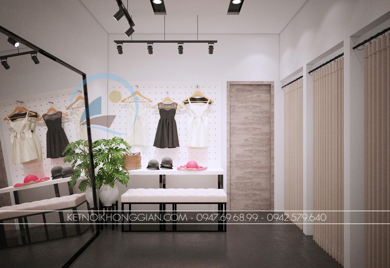 thiết kế shop thời trang giá rẻ tuyệt vời