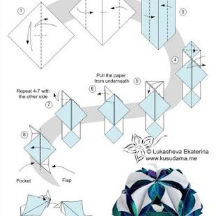 origami flower tutorials apps on google play