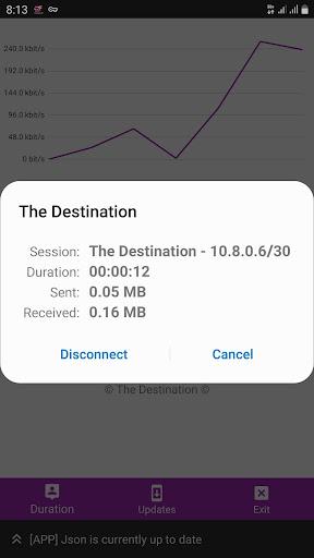 The Destination VPN 10.7 screenshots 3