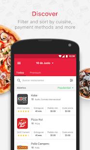 adomicilioYa.com - Order food - náhled
