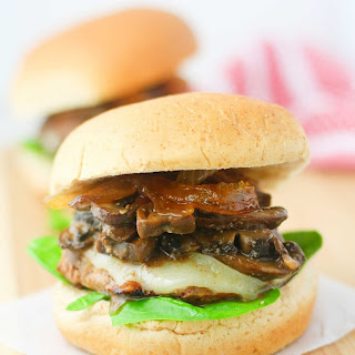 Caramelized Mushroom Turkey Sliders