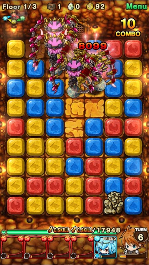 Puzzle Monster Quest: Dungeons- screenshot