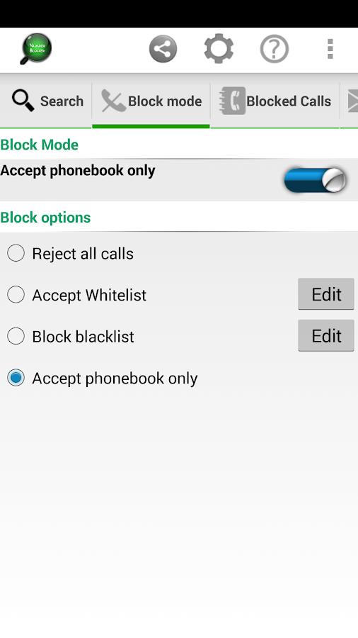 NumberBook Block Numbers- screenshot