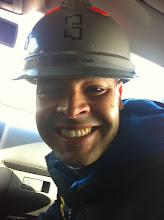 Photo: Rachid, chef de chantier !
