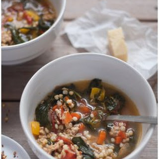 Turkey, Kale, and Sorghum Soup