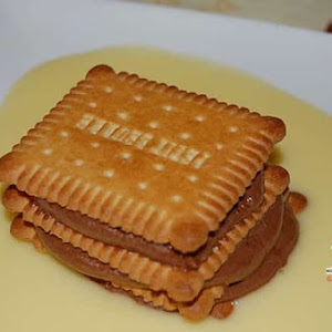 Petits-Buerre Mille-Feuille with Chocolate Mousse
