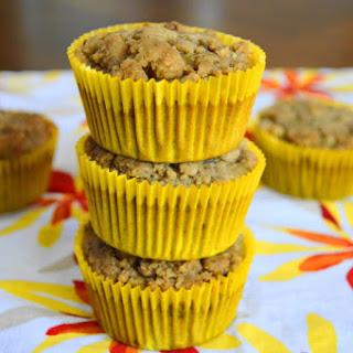 Banana Walnut Crumb Muffins