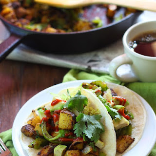 Curried Potato Tacos