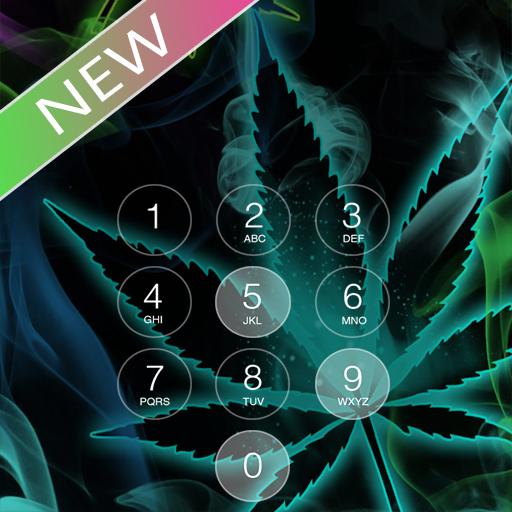 weed lock screen PRO ☘️