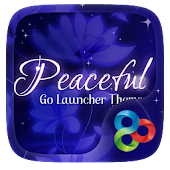 Peacefulll Go Launcher Theme