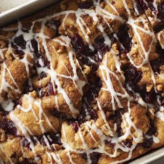 Cranberry-Nut Coffee Cake.
