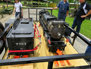 Photo: NYC 7113 ready to travel to a meet.    HALS Public Run Day 2015-0418 RPW