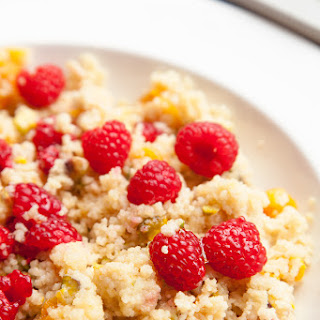 5 Minute Sweet Breakfast Couscous.