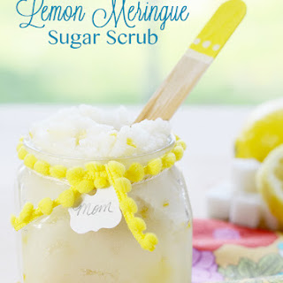 Lemon Meringue Sugar Scrub