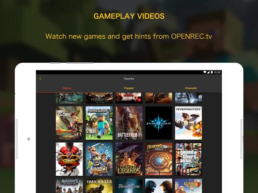 OPENREC.tv -Gaming Videos&Live 6.9.4 Windows u7528 6