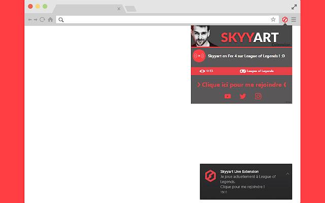 Extension Live Skyyart
