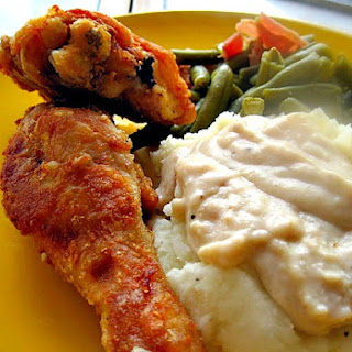 Step by Step Pan Fried Chicken and Gravy