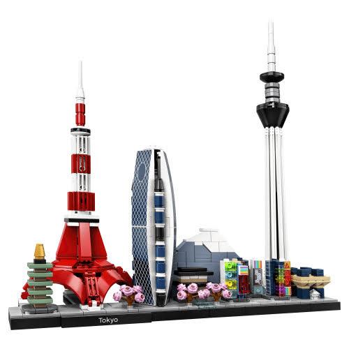 Contenido de Lego® 21051 Tokio