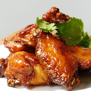 Garlic Teriyaki Chicken Wings.