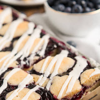 Blueberry Pie Bars.
