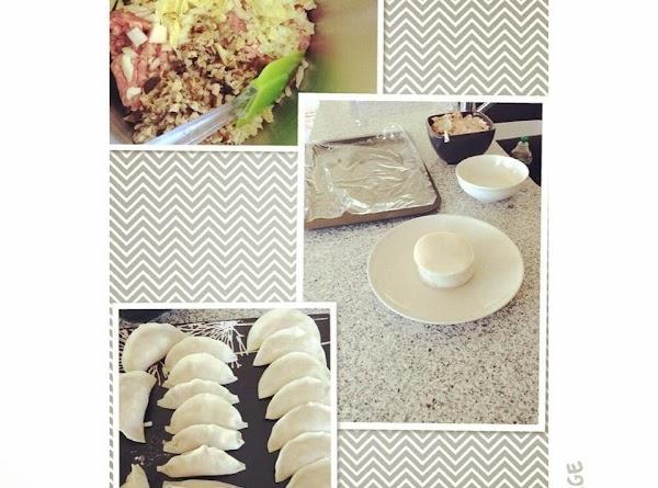 Nappa Cabbage, Shitake Mushrooms And Pork Dumpling Recipe