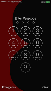 Lock Screen Galaxy S8 Theme - náhled