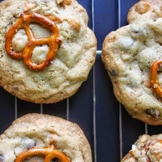 Butterscotch, Chocolate Chip, Pretzel Cookies